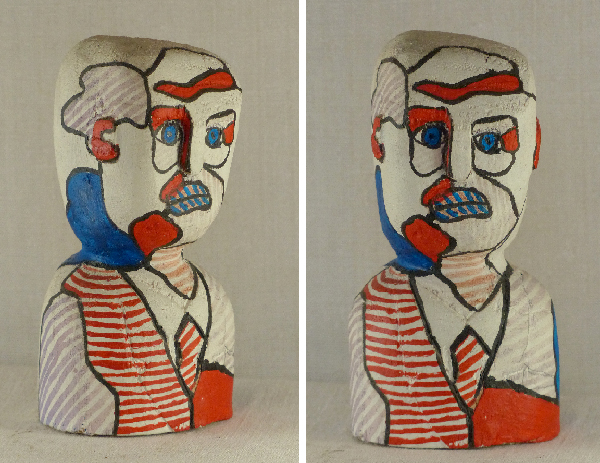 Jean Dubuffet. Sculpture Laurent Jacquy.