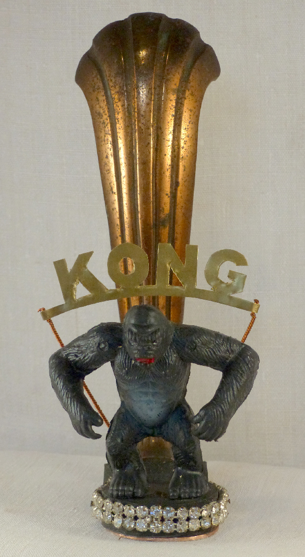 Kong. Laurent Jacquy,sculpture.