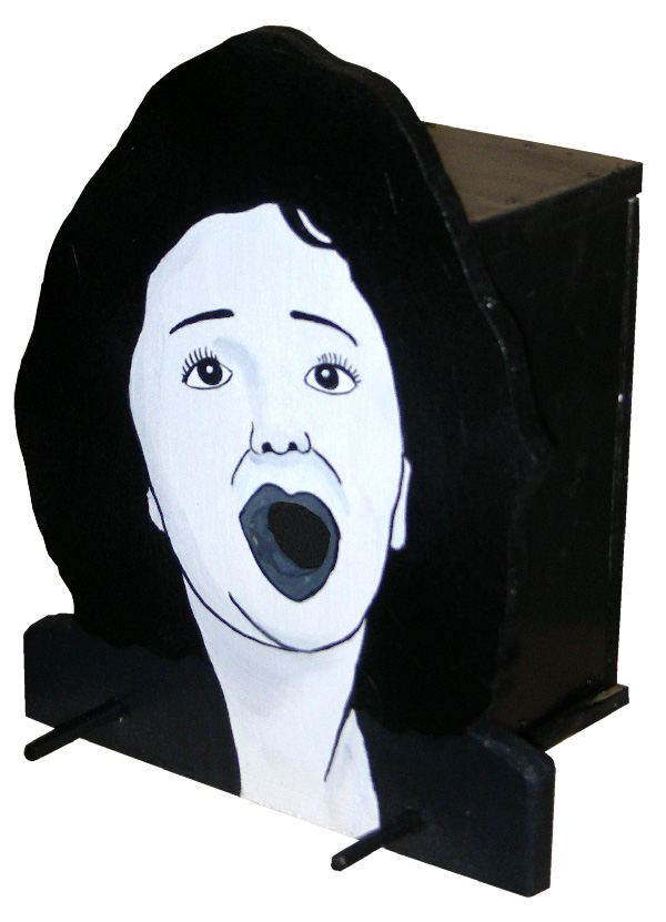 nichoir, birdhouse Edith Piaf. Laurent Jacquy.