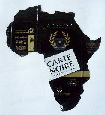 Laurent Jacquy. Carte noire.art modeste