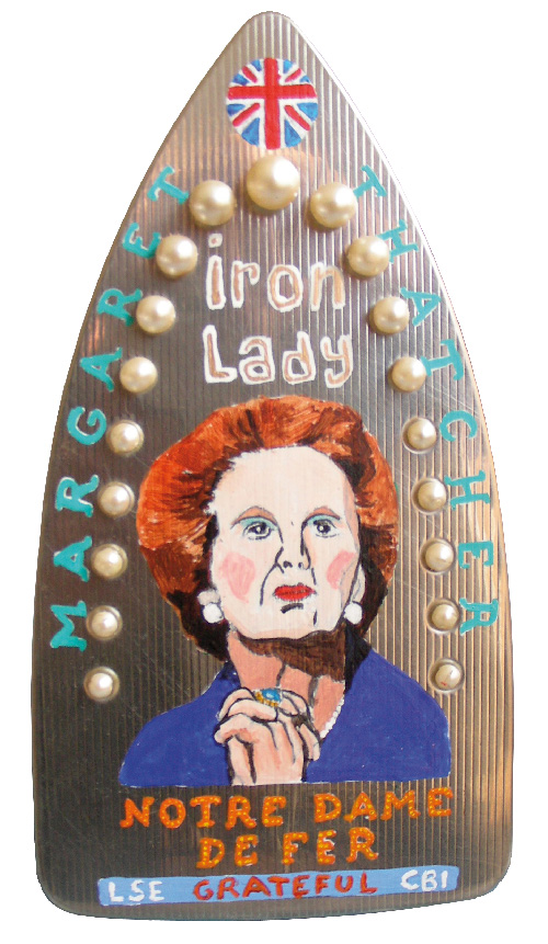 Laurent Jacquy. Maggie Thatcher.art modeste
