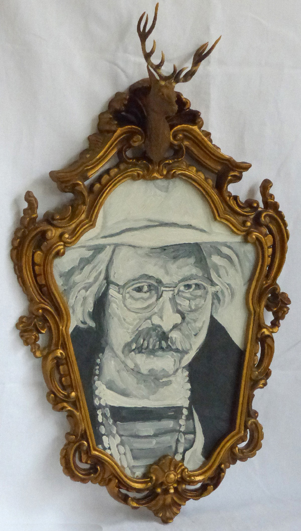 Richard Brautigan.peinture.art modeste