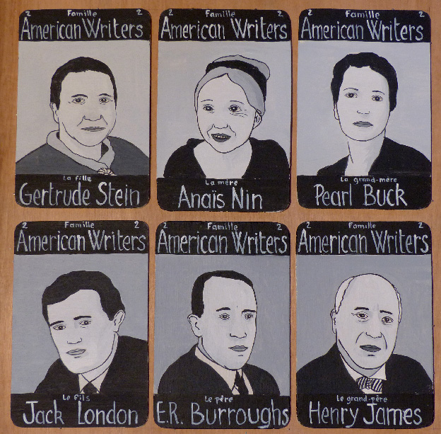 Laurent Jacquy. Famille American Writers 2