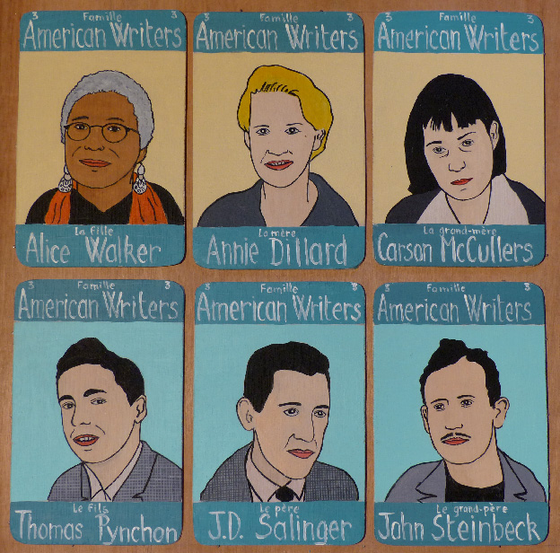 Laurent Jacquy. Famille American Writers 3